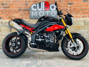 2014 TRIUMPH SPEED TRIPLE 1050 R ABS  £7290.00
