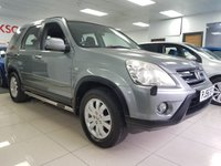 USED 2006 56 HONDA CR-V 2.2 I-CTDI SPORT 5d+SERVICE HISTORY+ICE COLD AIR CON+ALLOYS+SIDE BARS+