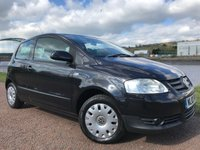USED 2010 10 VOLKSWAGEN FOX 1.2 URBAN 6V 3d 55 BHP **GREAT FIRST CAR**