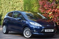 USED 2012 61 FORD FIESTA 1.4 TITANIUM 3d 96 BHP 2012 REGISTERED, ONLY 67,000 MIILES , ONLY 1 PREVIOUS OWNER, DIRECT FROM LOCAL FORD MAIN DEALER