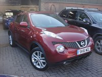 USED 2011 61 NISSAN JUKE 1.6 ACENTA PREMIUM 5d 117 BHP ANY PART EXCHANGE WELCOME, COUNTRY WIDE DELIVERY ARRANGED, HUGE SPEC