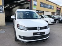 2011 VOLKSWAGEN CADDY 1.6 C20 TDI BLUEMOTION 102 1d 101 BHP + VAT £6800.00