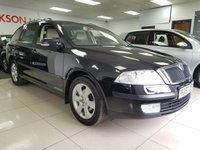 USED 2007 57 SKODA OCTAVIA 1.9 ELEGANCE TDI 5d+HEATED LEATHER+ELECTRIC SEATS+CLIMATE+CAMBELT DONE+SERVICE HISTORY+ONE OWNER FROM NEW