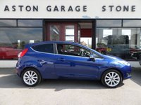 USED 2016 66 FORD FIESTA 1.0 TITANIUM 3d AUTO 99 BHP **1 OWNER * F/S/H** ** FULL SERVICE HISTORY * 1 OWNER * CRUISE **