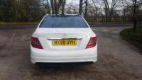 USED 2009 59 MERCEDES-BENZ C CLASS 2.1 C250 CDI BlueEFFICIENCY Sport 4dr ZERO DEPOSIT FINANCE AVAILABLE