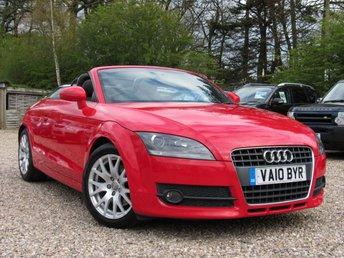 2010 AUDI TT 1.8 TFSI 2d 160 BHP £7950.00