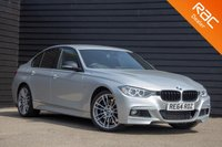 USED 2014 64 BMW 3 SERIES 3.0 335D XDRIVE M SPORT 4d AUTO 309 BHP £0 DEPOSIT BUY NOW PAY LATER - PRO NAV - HARMAN/KARDON - HEAD UP