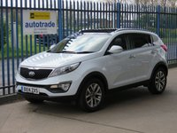 USED 2014 14 KIA SPORTAGE 1.6 2 ISG 5d 133 BHP Panoramic Electric Roof & Half Leather