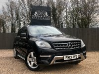 2013 MERCEDES-BENZ M CLASS 2.1 ML250 BLUETEC AMG SPORT 5dr AUTO £18999.00
