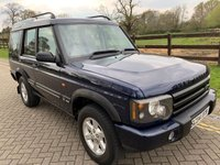 2004 LAND ROVER DISCOVERY 2.5 PURSUIT S TD5 5d AUTO 136 BHP £5850.00