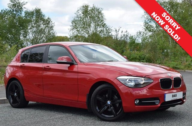 2012 12 BMW 1 SERIES 2.0 118D SPORT 5d 141 BHP