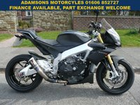 USED 2013 63 APRILIA TUONO 1.0 TUONO V4 APRC ABS 1d  Full Service History,Massive Spec,Low Mileage,New Mot