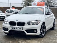 USED 2015 15 BMW 1 SERIES 1.5 116D SPORT 5d // Sat Nav // Dab Radio // Bluetooth Audio and Telephone //