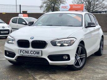2015 BMW 1 SERIES 1.5 116D SPORT 5d // Sat Nav // Dab Radio // Bluetooth Audio and Telephone // £10995.00
