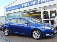 USED 2016 65 FORD FOCUS 1.5 TDCi ZETEC  5dr (118bhp) .........ONE PRIVATE OWNER. FULL FORD SERVICE HISTORY (Zero road tax & 74mpg).