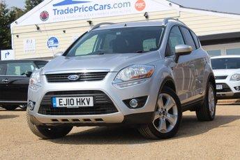 2010 FORD KUGA 2.0 ZETEC TDCI 2WD 5d 134 BHP £7995.00