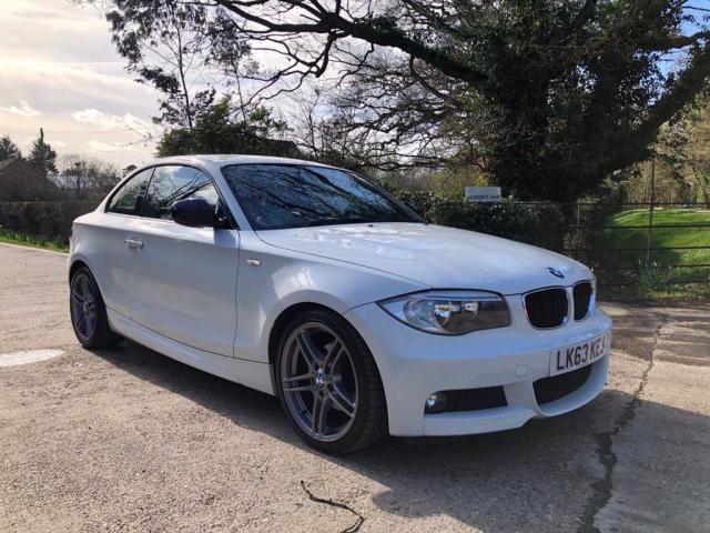 2013 63 BMW 1 SERIES  2.0 118d Sport Plus 2dr