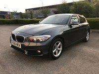 2016 BMW 1 SERIES 1.5 116D ED PLUS 5d 114 BHP £SOLD