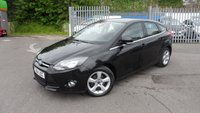 USED 2014 64 FORD FOCUS 1.6 ZETEC NAVIGATOR ECONETIC TDCI START/STOP 5d 104 BHP NAVIGATION SYSTEM WITH DAB RADIO/CD AND FORD SYNC BLUETOOTH CONNECTION, VOICE CONTROL
