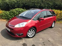 2010 CITROEN C4 GRAND PICASSO 1.6 EXCLUSIVE HDI EGS 5d AUTO 107 BHP £3499.00