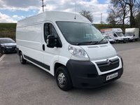 USED 2014 14 CITROEN RELAY 35 L3H2 ENTERPRISE HDI 130PS *SIX MONTHS AA WARRANTY*