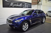 USED 2012 62 INFINITI FX 3.0 FX30D 5d AUTO 235 BHP GREAT VALUE LUXURY - INFINITY S/H + PRE DELIVERY - NAV - LEATHER - REVERSE CAMERA - HEATED SEATS