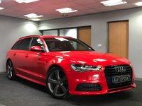 USED 2015 15 AUDI A6 2.0 AVANT TDI ULTRA BLACK EDITION 5d AUTO 188 BHP