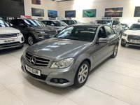 2011 MERCEDES-BENZ C CLASS 1.8 C180 BLUEEFFICIENCY SE 4d AUTO 155 BHP £8495.00