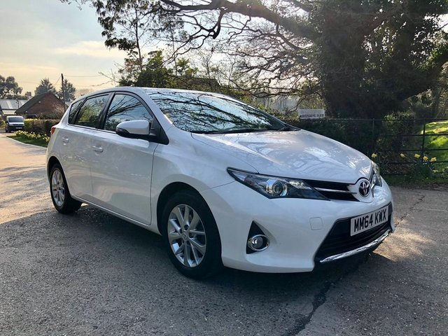 2015 64 TOYOTA AURIS 1.6 V-Matic Icon M-Drive S 5dr