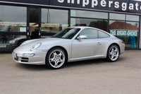 """USED 2006 56 PORSCHE 911 3.6 CARRERA 2 2d 325 BHP Great Specification Gen 1 997 with Low Mileage and Full Service History (Recently Serviced), 3 Previous Owners, Rear Park Assist, 6 Disc Cd Player, Porsche Vehicle Tracking System Nav, Heated Black Leather,Bluetooth Phone, 19"""" Alloys, Cruise"""