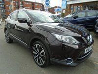 USED 2014 63 NISSAN QASHQAI 1.6 DCI TEKNA 5d 128 BHP PAN ROOF, SAT NAV, REAR CAMERA