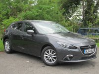USED 2014 64 MAZDA 3 2.0 SE-L 5d AUTO  AUTOMATIC, 1  OWNER, 12 MONTHS FREE AA MEMBERSHIP, 128 POINT AA INSPECTION