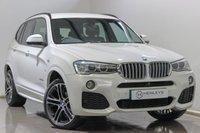 USED 2016 16 BMW X3 3.0 XDRIVE30D M SPORT 5d AUTO 255 BHP