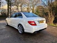 USED 2011 61 MERCEDES-BENZ C CLASS  2.1 C250 CDI BlueEFFICIENCY Sport Edition 125 7G-Tronic 4dr ZERO DEPOSIT FINANCE AVAILABLE