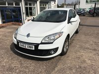 USED 2012 62 RENAULT MEGANE 1.6 EXPRESSION PLUS 5d 110 BHP FULL SERVICE HISTORY-BLUETOOTH-ALLOY WHEELS-5 DOOR-PETROL-6 SPEED
