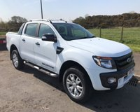 USED 2016 16 FORD RANGER 3.2 TDCI WILDTRAK 4X4 NO VAT 4DR PICK UP 197 BHP 6 MONTHS PARTS+ LABOUR WARRANTY+AA COVER