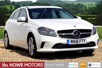 USED 2016 16 MERCEDES-BENZ A CLASS  A180 1.5D SPORT EXECUTIVE 5dr 109 BHP NAVIGATION GREY LEATHER REAR CAMERA HEATED SEATS BT PHONE AND BT AUDIO