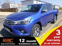 2017 TOYOTA HI-LUX Double Cab 2.4 Invincible 4WD D-4D 150ps AUTO £20500.00
