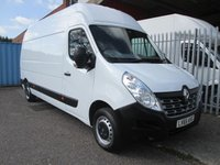 2015 RENAULT MASTER LH35 DCi 125 LWB High roof FWD *AIR CON*1 OWNER* £10995.00