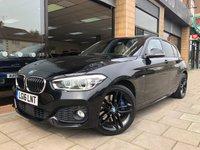 2016 BMW 1 SERIES 1.5 116D M SPORT 5d AUTO 114 BHP