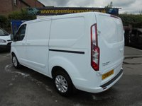 USED 2018 18 FORD TRANSIT CUSTOM NEW SHAPE TOP OF RANGE ( EURO 6 )  2.0,TDCI 130 BHP LIMITED P/V L1 H1 ONLY 16,000 MILES MAIN DEALER WARRANTY TILL 08 / 05 / 2021 ((( FINANCE AVAILABLE ))) NEW SHAPE LIMITED L1 H1 ONLY 16,000 MILES PREMIER VAN SALES STOCKPORT