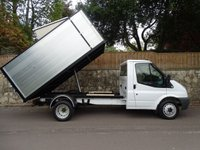 2009 FORD TRANSIT 2.4 350 MWB T350M RWD 1d 100 BHP SINGLE CAB TIPPER ARB CHIPPER £10995.00