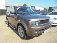 2010 LAND ROVER RANGE ROVER SPORT 3.0 TDV6 HSE 5dr AUTO 245 BHP FINANCE WITH NO DEPOSIT AND NOTHING TO PAY FOR 2 MONTHS £11500.00