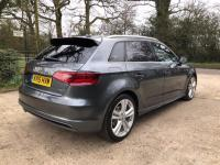 USED 2015 15 AUDI A3 2.0 TDI S line Sportback 5dr (Nav) ZERO DEPOSIT FINANCE AVAILABLE