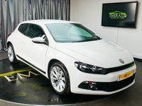 USED 2012 12 VOLKSWAGEN SCIROCCO 2.0 GT TDI BLUEMOTION TECHNOLOGY 2d 140 BHP £0 DEPOSIT FINANCE AVAILABLE, AIR CONDITIONING, ACC ADAPTIVE CHASSIS CONTROL, BLUETOOTH CONNECTIVITY, CLIMATE CONTROL, FULL LEATHER UPHOLSTERY, HEATED SEATS, SATELLITE NAVIGATION, STEERING WHEEL CONTROLS, TRIP COMPUTER
