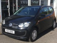 USED 2013 13 VOLKSWAGEN UP 1.0 MOVE UP 3 DOOR 59 BHP
