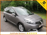 USED 2015 15 RENAULT GRAND SCENIC 1.5 DYNAMIQUE NAV DCI 5d 110 BHP.*ULEZ COMPLIANT*SAT NAV*EURO 6 Fantastic value One Owner Renault Grand Scenic with Seven Seats, Satellite Navigation, Climate Control, Cruise Control, Alloy Wheels and Renault Service History. This Vehicle is ULEZ Compliant with a EURO 6 Rated Engine