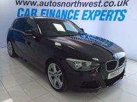 2013 BMW 1 SERIES 2.0 120D M SPORT 5d 181 BHP £10000.00