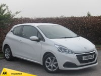 USED 2016 16 PEUGEOT 208 1.6 BLUE HDI ACTIVE 3d * 128 POINT AA INSPECTED * ONE OWNER FROM NEW * BUILT IN BLUETOOTH HANDSFREE *