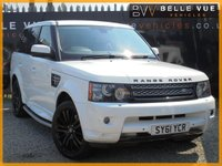 USED 2012 61 LAND ROVER RANGE ROVER SPORT 3.0 SDV6 HSE 5d AUTO 255 BHP *BIG SPEC, LOW MILEAGE, STUNNING EXAMPLE!*